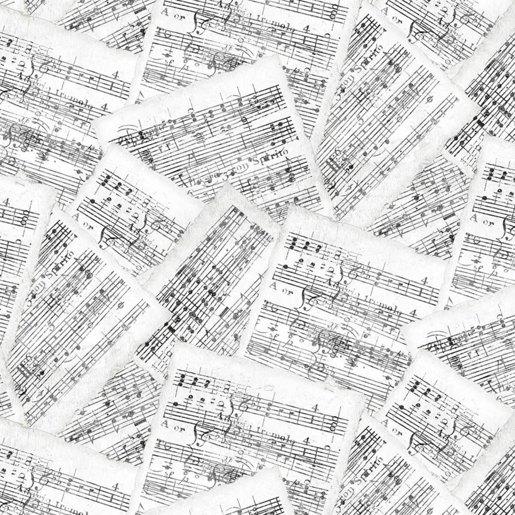 Wilmington Prints Interlude - Sheet Music - White