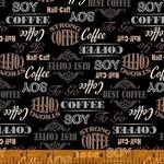 Windham Fabrics Coffee Shop - Signs - Black