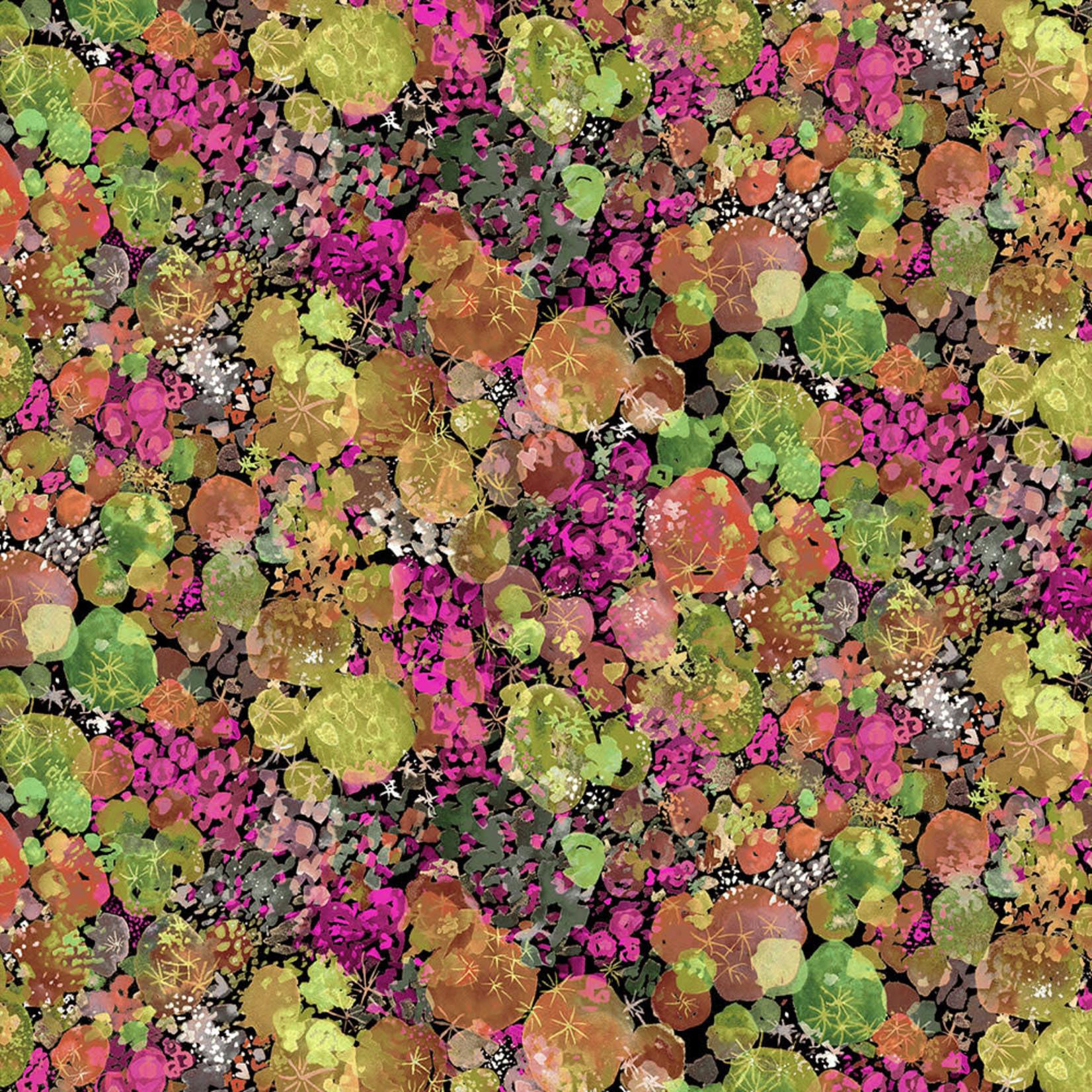 Windham Fabrics Curio - Mos - Roze