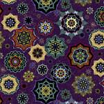 Windham Fabrics Grand Illusion - Mandalas - Purple