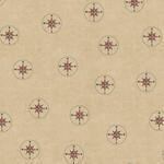 Windham Fabrics Seven Seas - Compasses - Almond