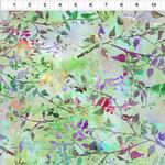 In the Beginning Fabrics Garden of Dreams - Birds - Spring Green