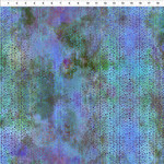 In the Beginning Fabrics Garden of Dreams - Beads - Purple/Green