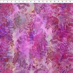 In the Beginning Fabrics Garden of Dreams - Blooms - Vivid Pink
