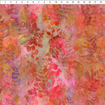 In the Beginning Fabrics Garden of Dreams - Blooms - Red Glow