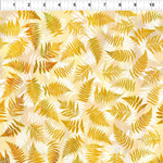 In the Beginning Fabrics Garden of Dreams - Ferns - Golden Sunlight