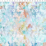 In the Beginning Fabrics Garden of Dreams - Ivy Rings - Soft Teal