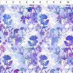 In the Beginning Fabrics Garden of Dreams - Springs - Purple Brillance
