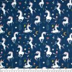 In the Beginning Fabrics Mermaids and Unicorns - Unicorns