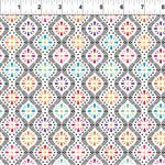 In the Beginning Fabrics Hummingbird Lane - Flower Stripe