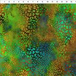 In the Beginning Fabrics Safari - Leopard - Copper/Moss