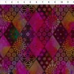 In the Beginning Fabrics Seasons - Diamonds - Pink