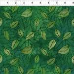In the Beginning Fabrics Seasons - Leaves - Green