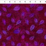 In the Beginning Fabrics Seasons - Leaves - Pink