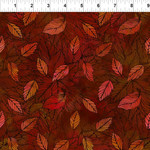 In the Beginning Fabrics Seasons - Leaves - Spice