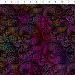 In the Beginning Fabrics Seasons - Paisley - Pink