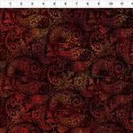 In the Beginning Fabrics Seasons - Paisley - Spice