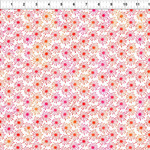 In the Beginning Fabrics Unusual Garden II - Burst - Pink/White