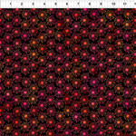 In the Beginning Fabrics Unusual Garden II - Burst - Red/Black