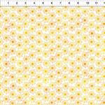In the Beginning Fabrics Unusual Garden II - Burst - Yellow/White