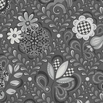 Contempo Studio First Frost - Damask Gray