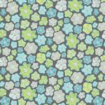 Contempo Studio Meadow Dance - Little Flowers - Gray