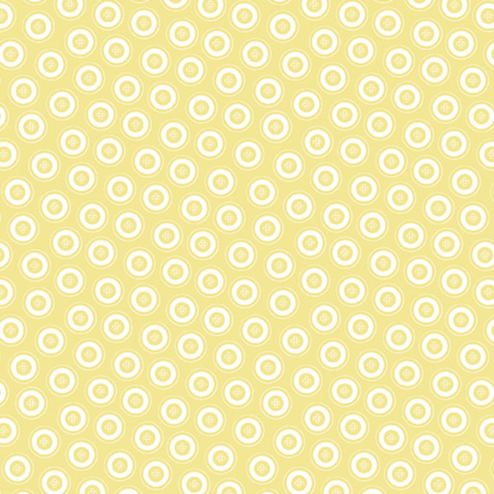 Contempo Studio My Happy Place - Dotty Buttons - Yellow