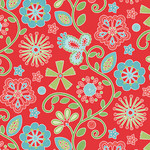 Contempo Studio Sewing Room - Embroidery - Red