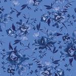 Maywood Studio Silver Jubilee - Medium Floral - Blue