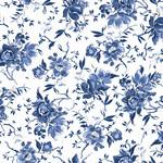 Maywood Studio Silver Jubilee - Medium Floral - White - Metallic
