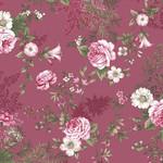 Stof Fabrics Juliet Roses - Roses - Pink