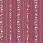 Stof Fabrics Juliet Roses - Strips - Pink
