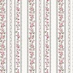 Stof Fabrics Juliet Roses - Strips - White
