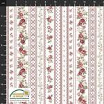 Stof Fabrics Kelly Roses - White