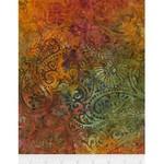 Timeless Treasures Tonga - Paisley - Amber