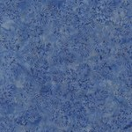 Timeless Treasures Tonga - Snowflake Leaves - Coast