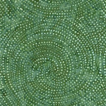 Timeless Treasures Tonga - Dotty Spiral - Fern