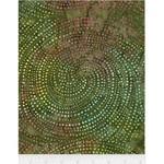 Timeless Treasures Tonga - Dotty Spiral - Meadow