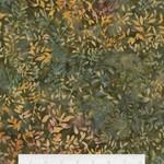 Timeless Treasures Tonga - Flower Buds - Olive
