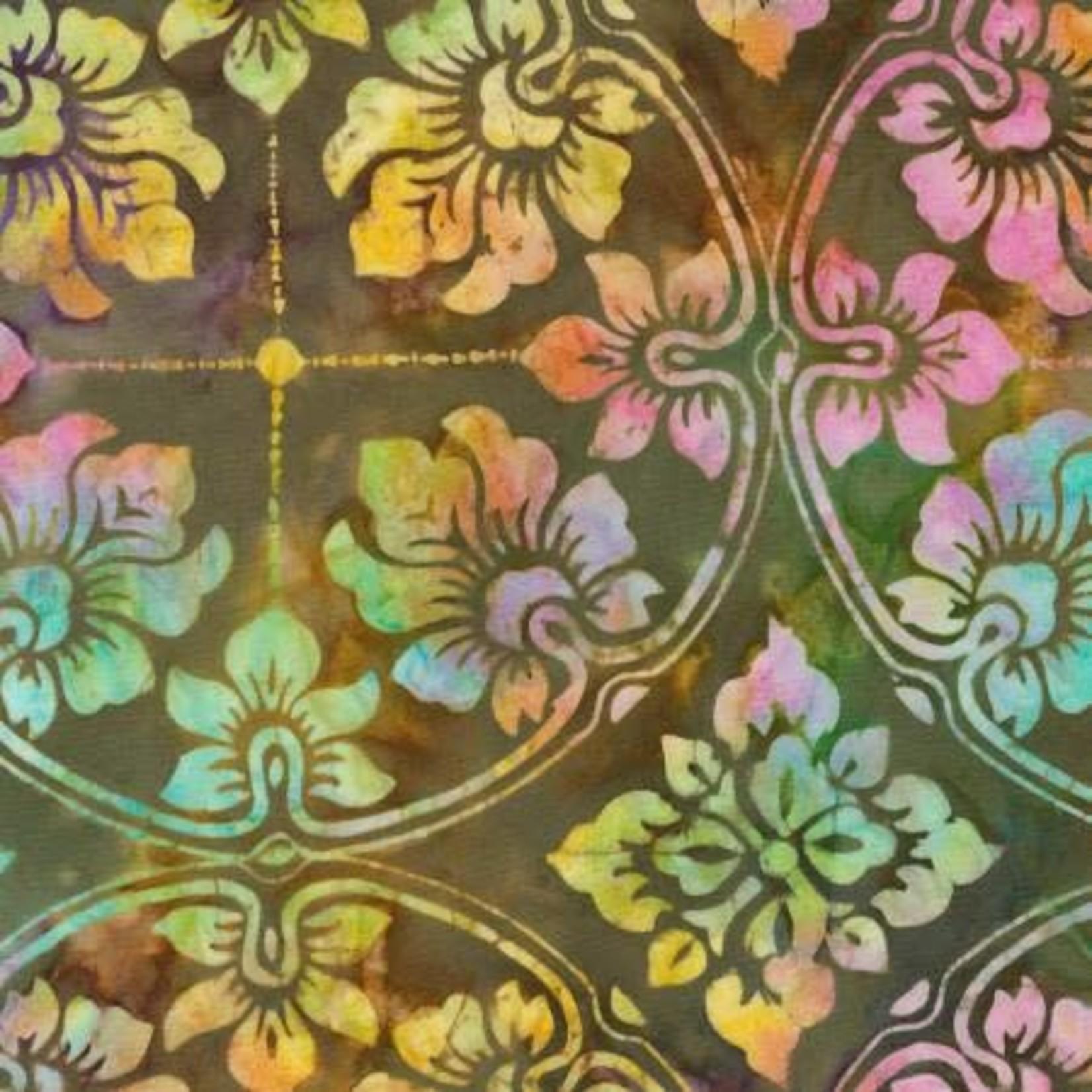 Timeless Treasures Tonga - Wallpaper - Patina