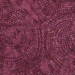 Timeless Treasures Tonga - Dotty Spiral - Wine