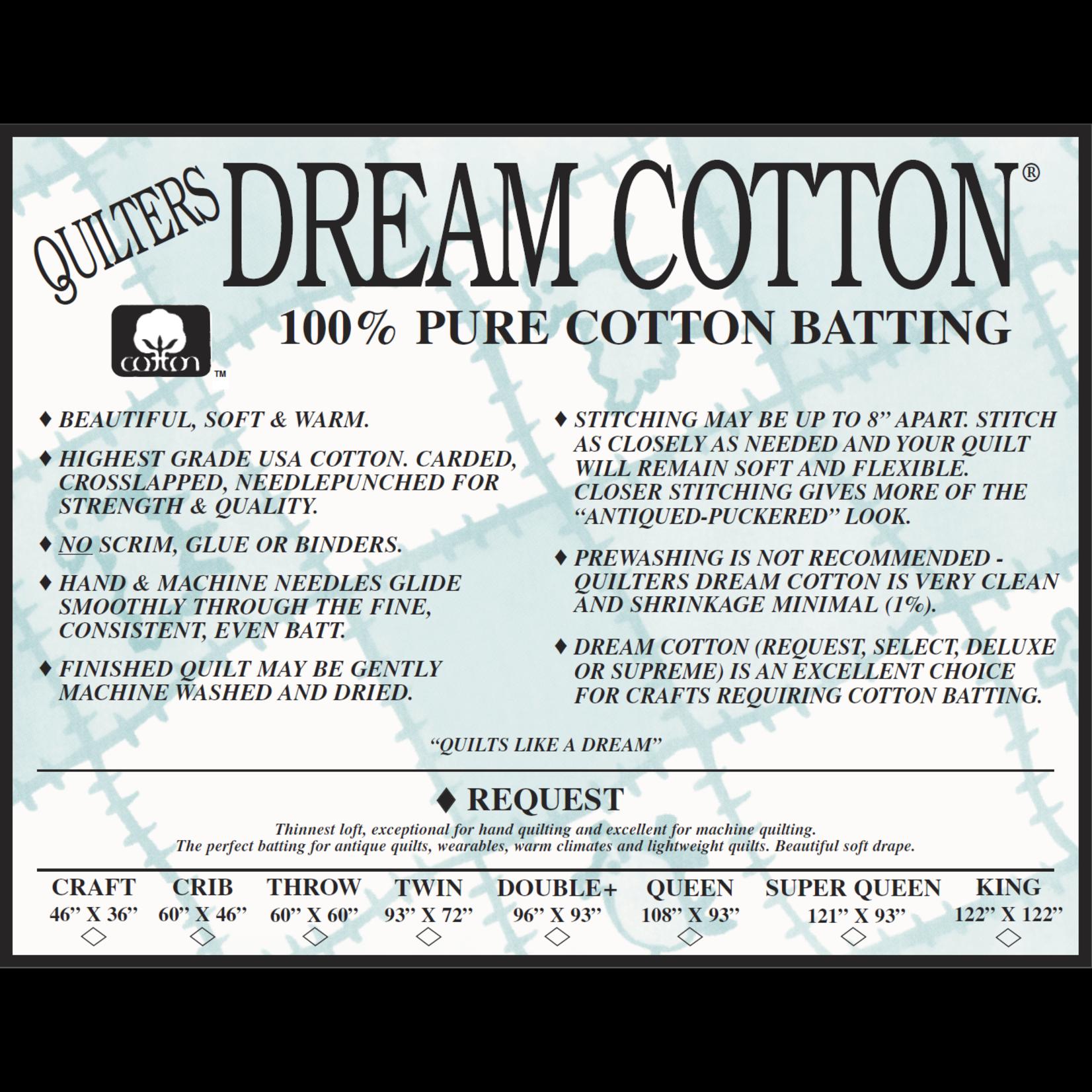 Quilters Dream Katoen - Cotton Request - 310 cm x 310 cm King