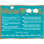 Quilters Dream Wol - Wool - Van de rol (per 10 cm) 240 cm breed