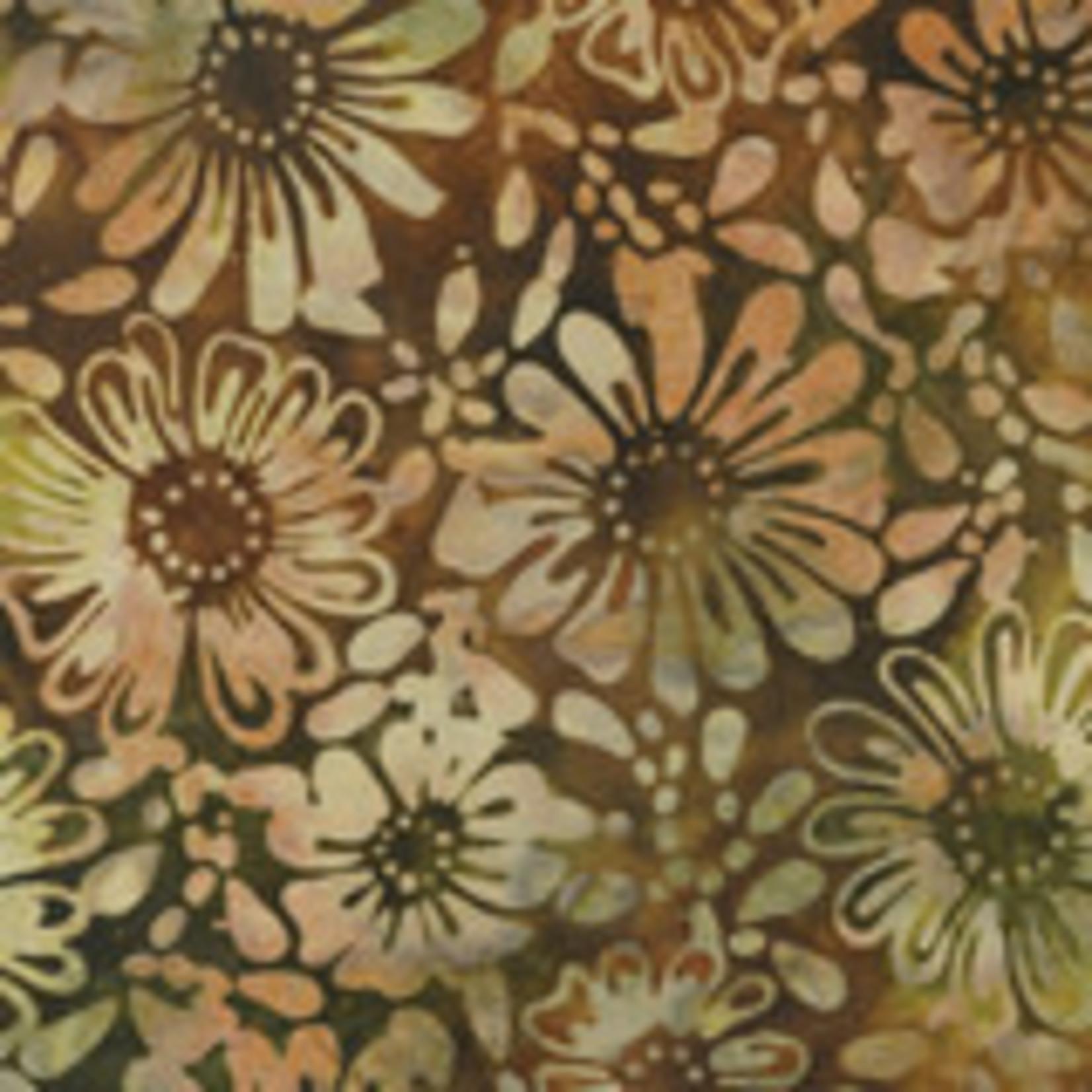 Benartex Studio Bali Eden - Flowerbed Earth Multi