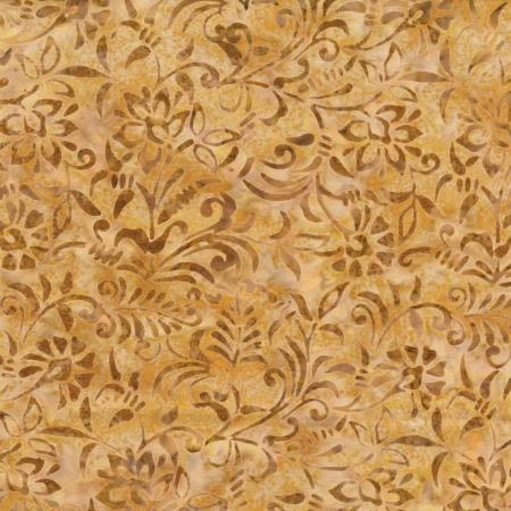 Wilmington Prints Golden Brown Damask
