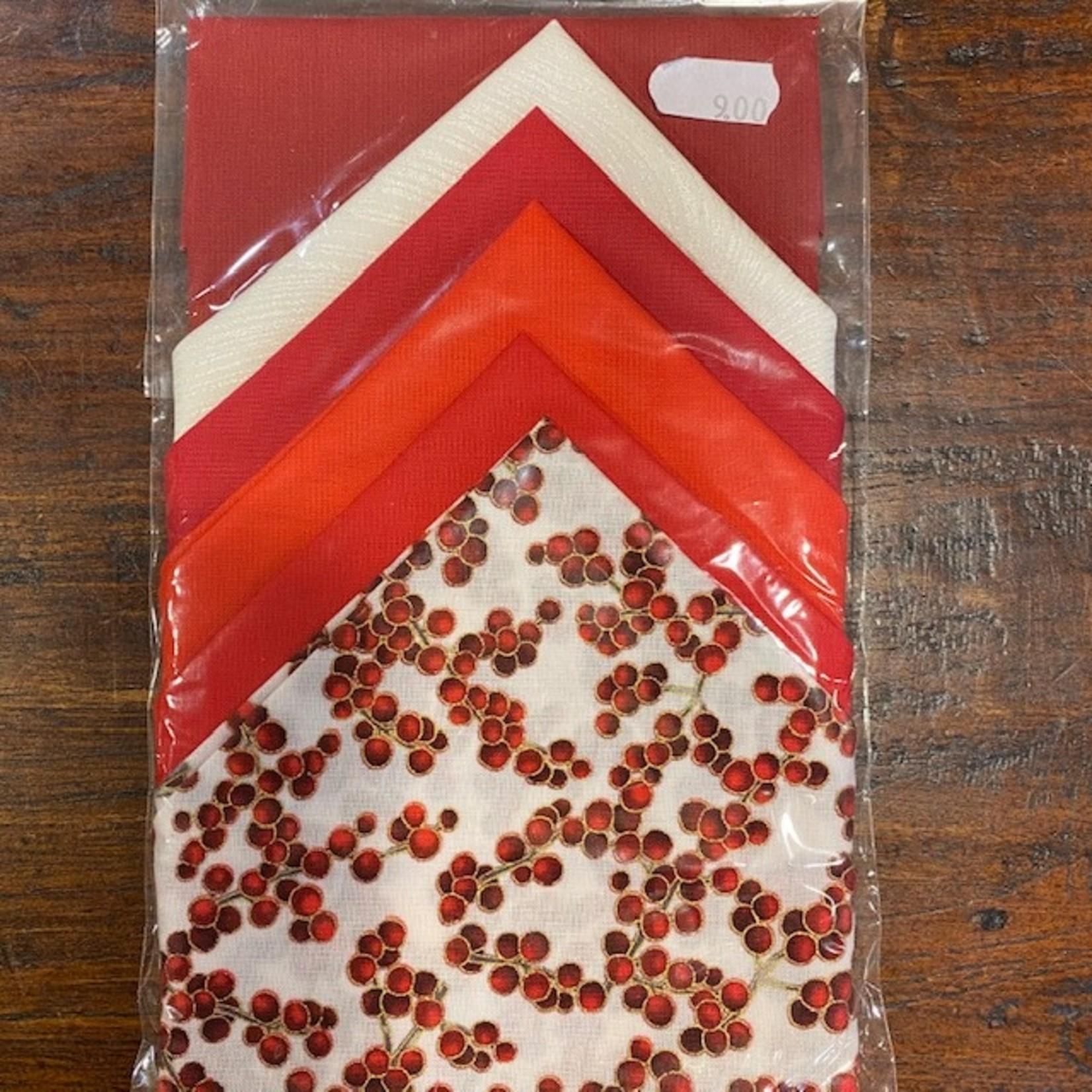 Elly Prins Machine Quilting Elly's Mini's - 32 - Layer Cake - 6 Vierkanten