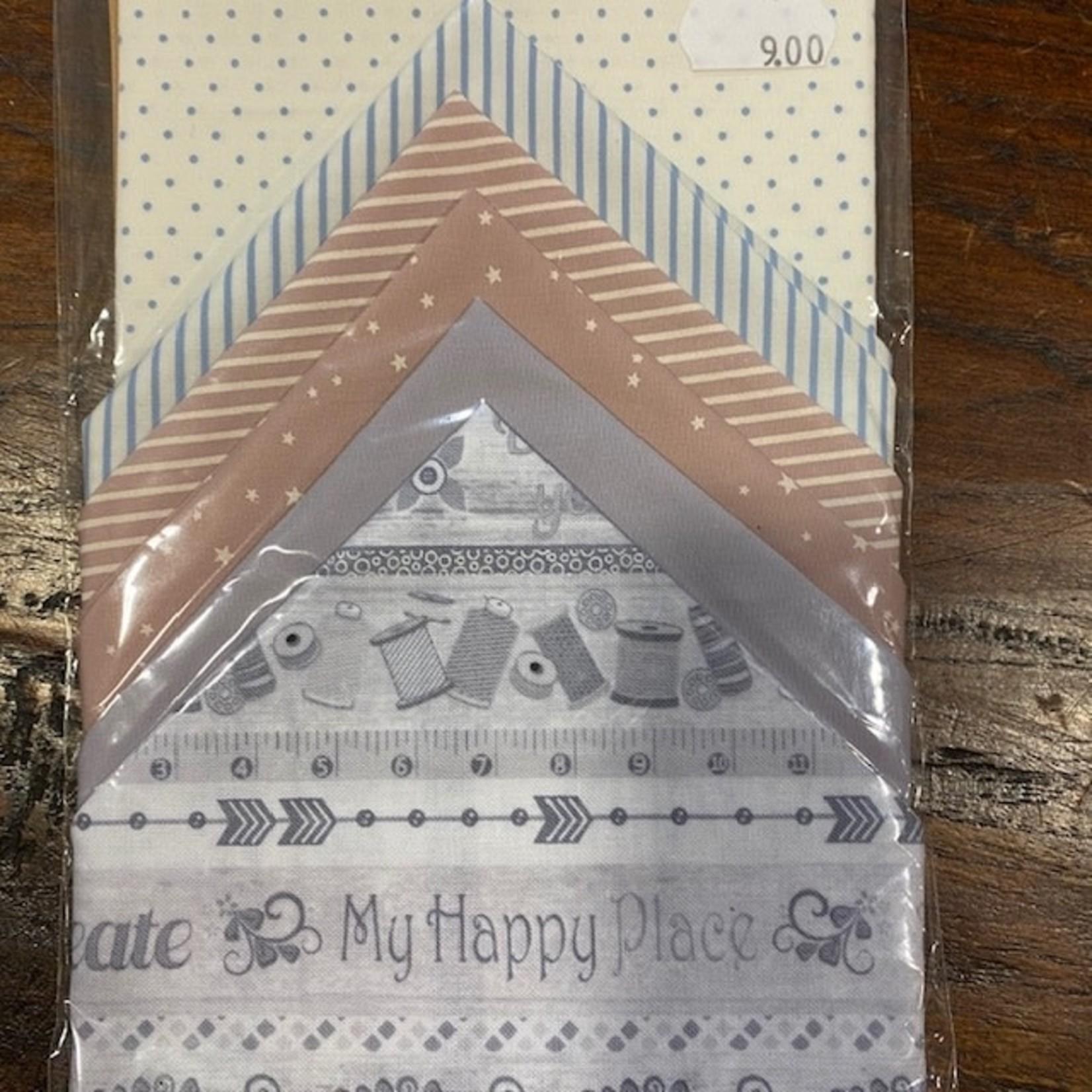 Elly Prins Machine Quilting Elly's Mini's - 121 - Layer Cake - 6 Vierkanten