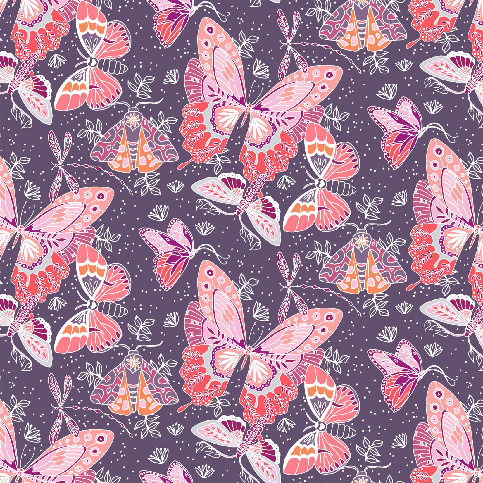 Windham Fabrics Aerial - Flock - Grape