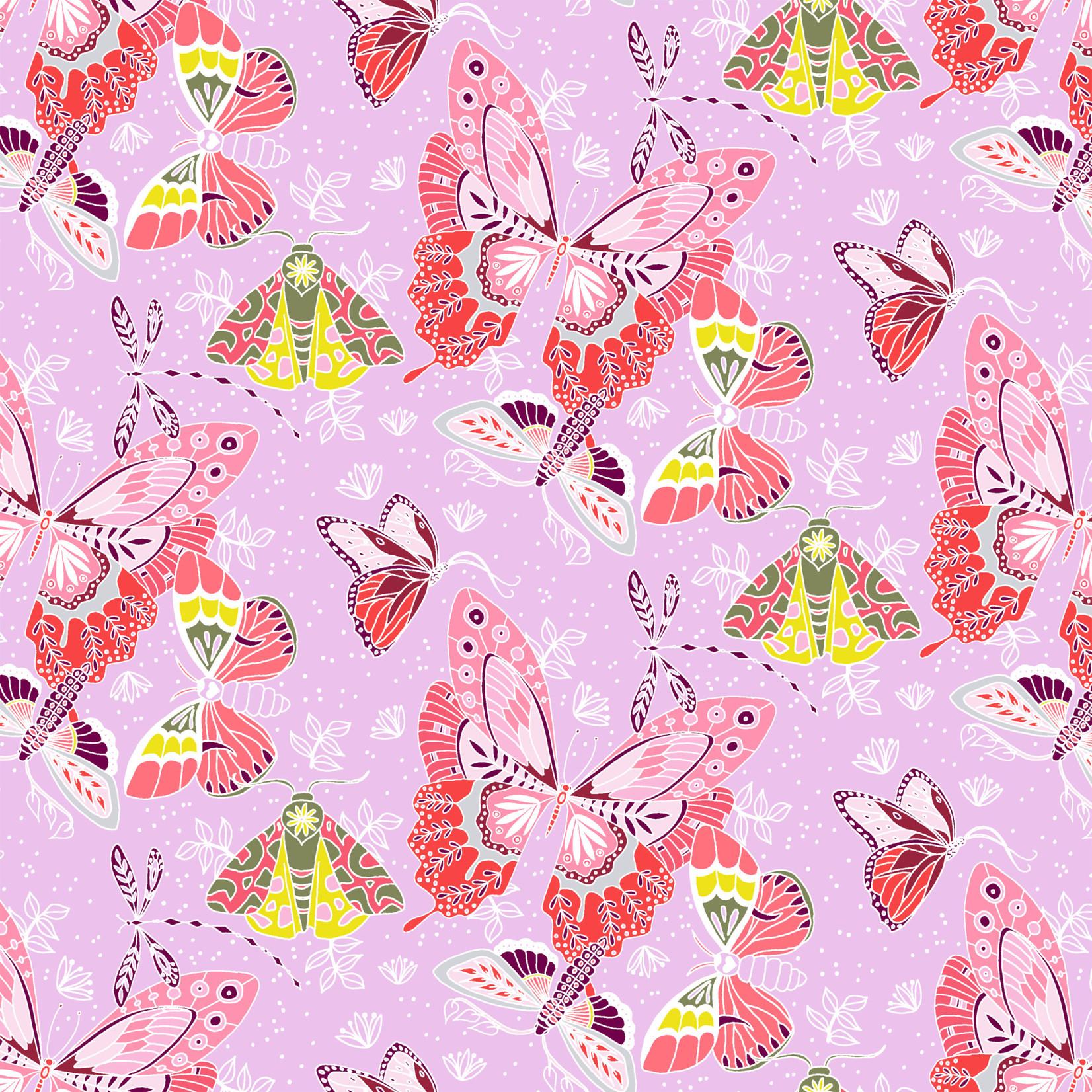 Windham Fabrics Aerial - Flock - Lilac
