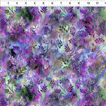 In the Beginning Fabrics Floragraphix V - Sprigs - Purple